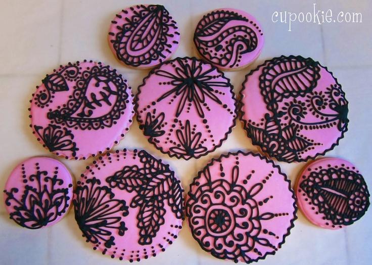Mehndi Inspired Cake : Best henna inspired food yum images cake