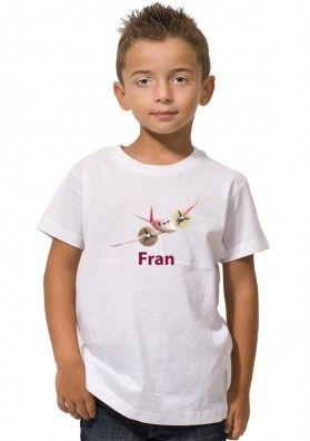 Camiseta Rochelle Aviones Disney