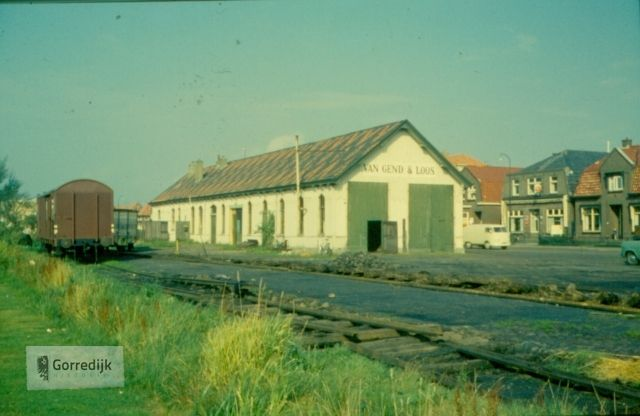 Stationsweg Tramstation 1962.