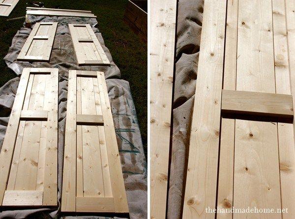 obloane din lemn pentru ferestre wood shutters 16