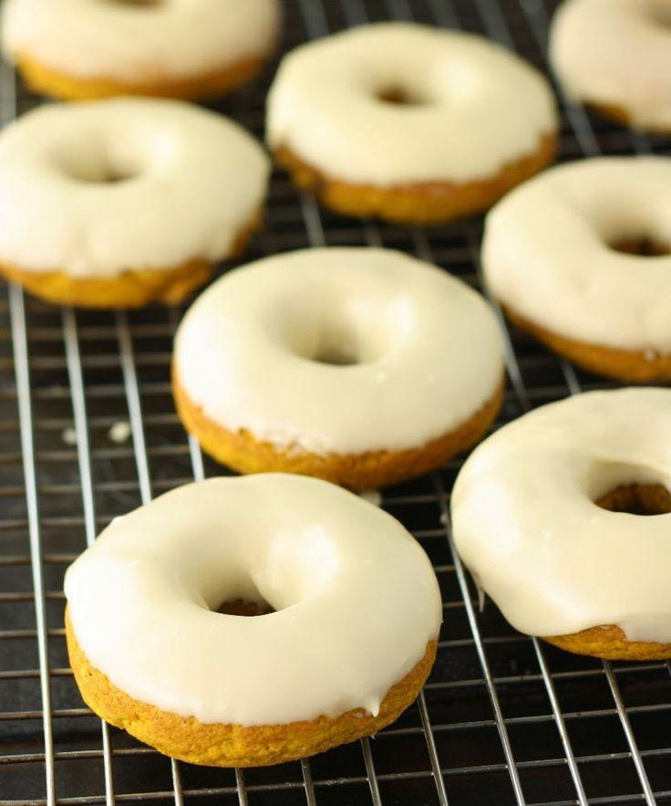 No Gluten, No Problem: Baked Pumpkin Donuts with Maple Glaze
