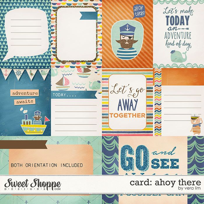 Ahoy There :: Cards by Vera Lim