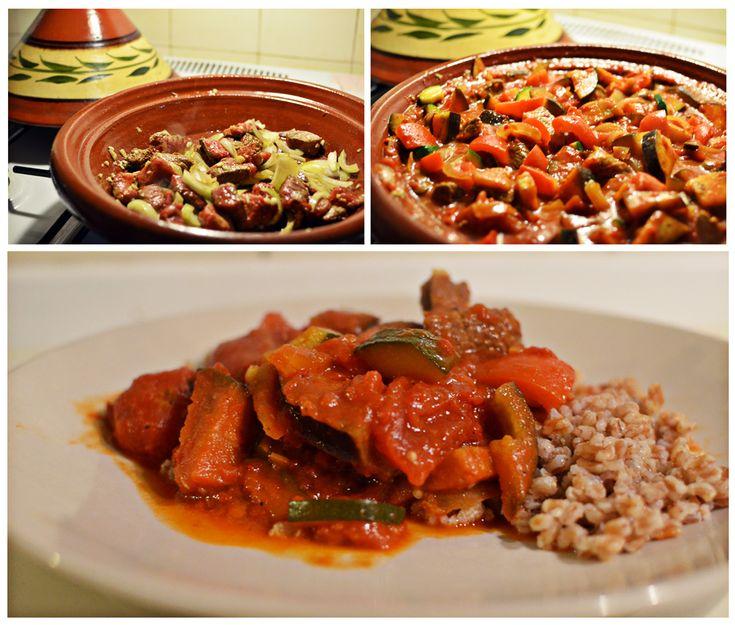 Marokansk tagine med kalvekød!