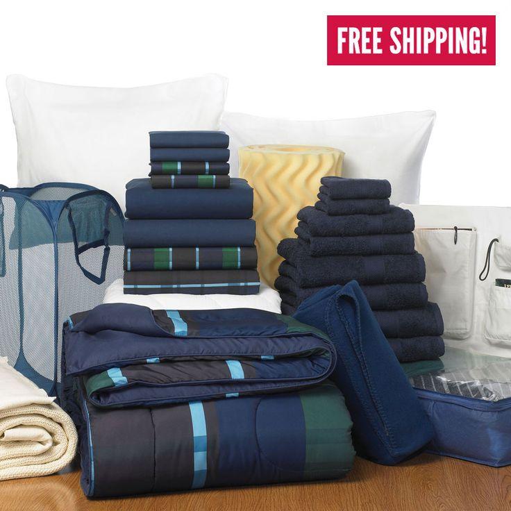 Superb Dorm Room Bedding Packages And Bundles For College | OCM Part 15