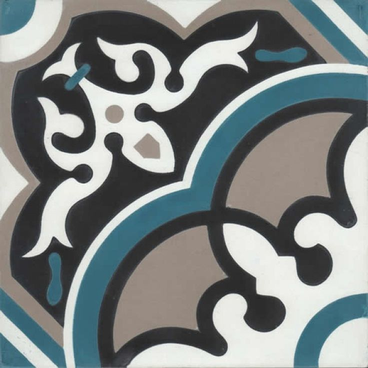 Moroccan Encaustic Cement Pattern 29b