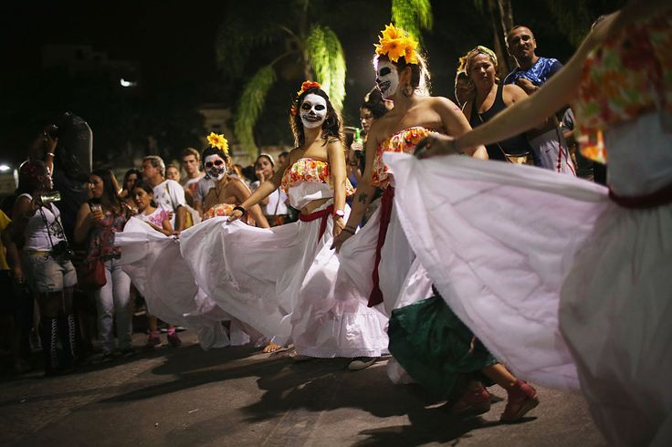 10/28/16 Day Of The Dead Celebrations Around The World Pictures: How People Celebrate Dia De Los Muertos  Celebrating the Day of the Dead is a global tradition. Here are how some countries party with their undead loved ones.