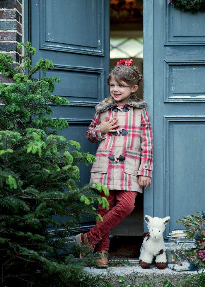 Patron de couture gratuit: un manteau pour enfant