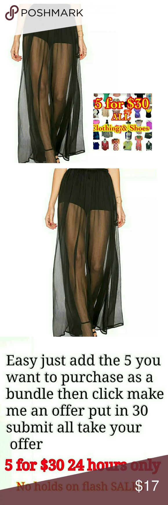 Womens Tule Tutu Skirt long Prom Black  small Womens Tule Tutu Skirt long Prom Ballet small very nice has the attached shorts understanding would look great with some maroon leggings  ( WANT 5 FOR  $30 MSG ME 1 DAYS ONLY ) Skirts A-Line or Full