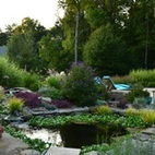 Contempory Design meet Natural Beauty - eclectic - landscape - new york - Harmony Design Group