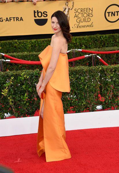 Caitriona Balfe Photos: 21st Annual Screen Actors Guild Awards - Arrivals