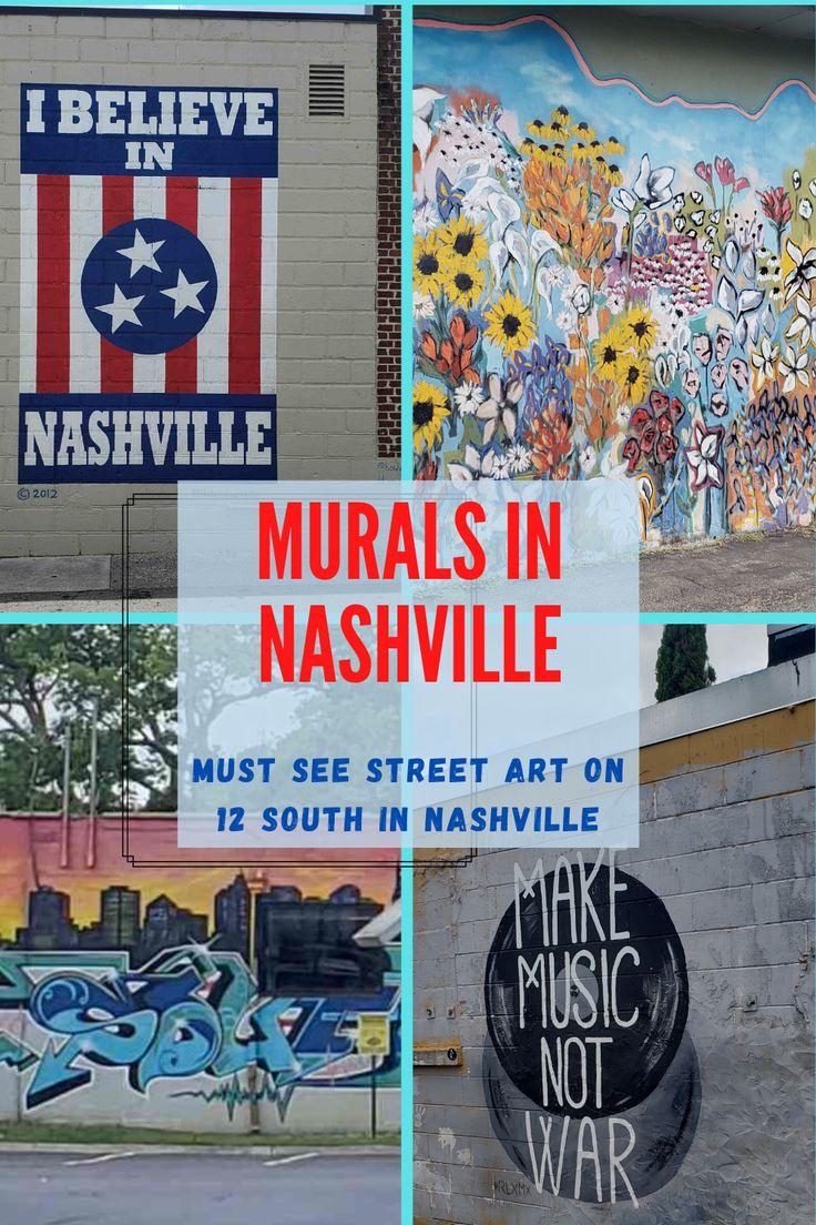 Best wall murals in nashville to add to your instagram