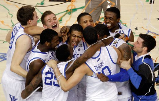 What was looking like a blowout turned into a decent game down the stretch, but the University of Kentucky held off a late rally by the University of Kansas to win its eighth national championship.