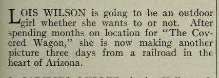 Photoplay August 1923 - Lois Wilson