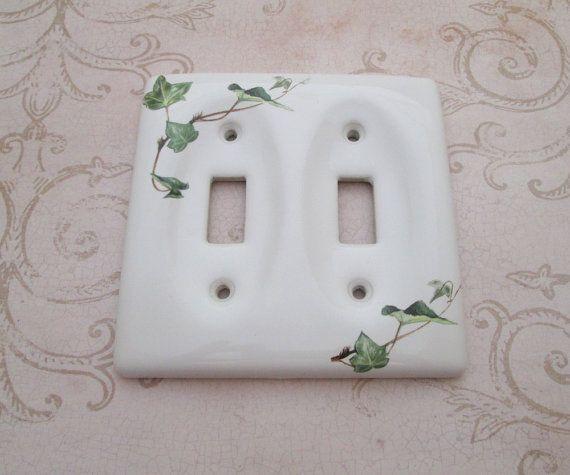 Kitchen Light Switch Covers 143 best vintage light switch covers images on pinterest | light