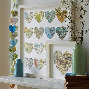 Bespoke Multi Heart Map art ? by Bombus