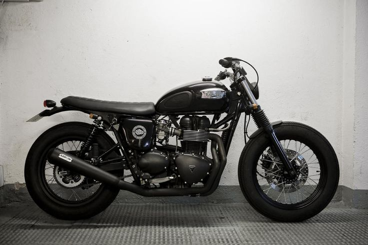 Cream Motorcycles present their own rendition of the bonneville.