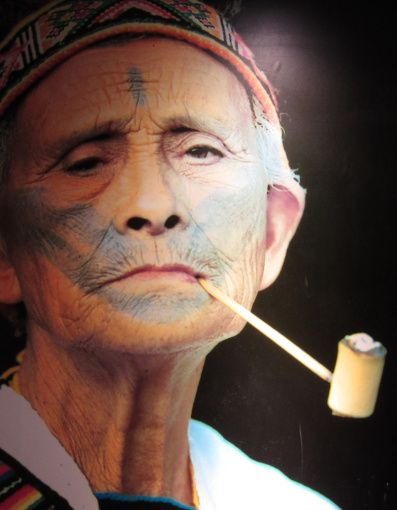 Das Gesichtstattoo der Atayals in Wulai (Taiwan) | China - Peoples and Cultures