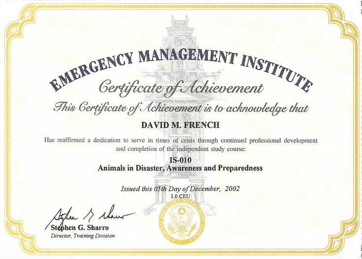 11 best FEMA Certificates images on Pinterest Certificate - certificate of construction completion