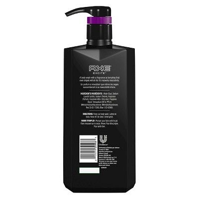 Axe Body Wash with Pump Excite 28 oz