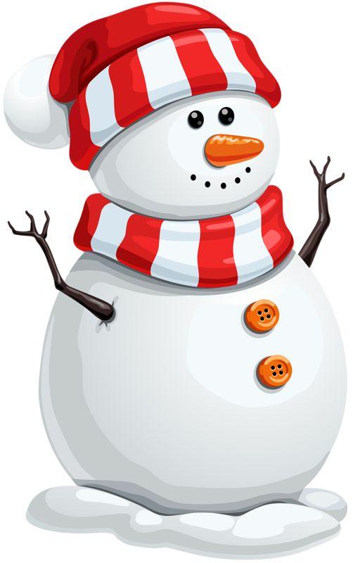 snowman clipart ideas