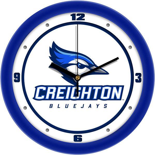 Mens Creighton University Bluejays - Traditional Wall Clock