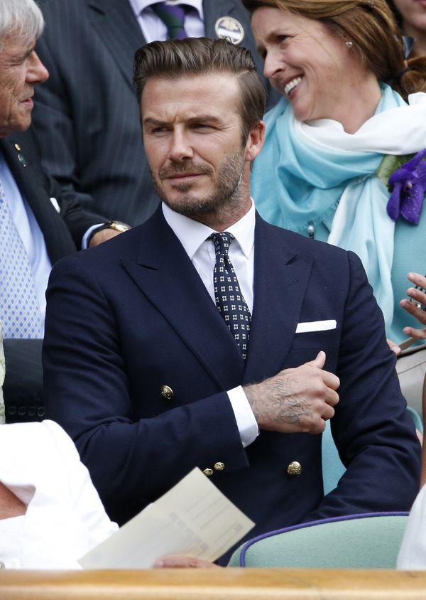 David Beckham - Le meilleur de l'été Pure elegance
