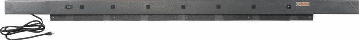 Gladiator - 9-Outlet Workbench Powerstrip - Hammered Granite