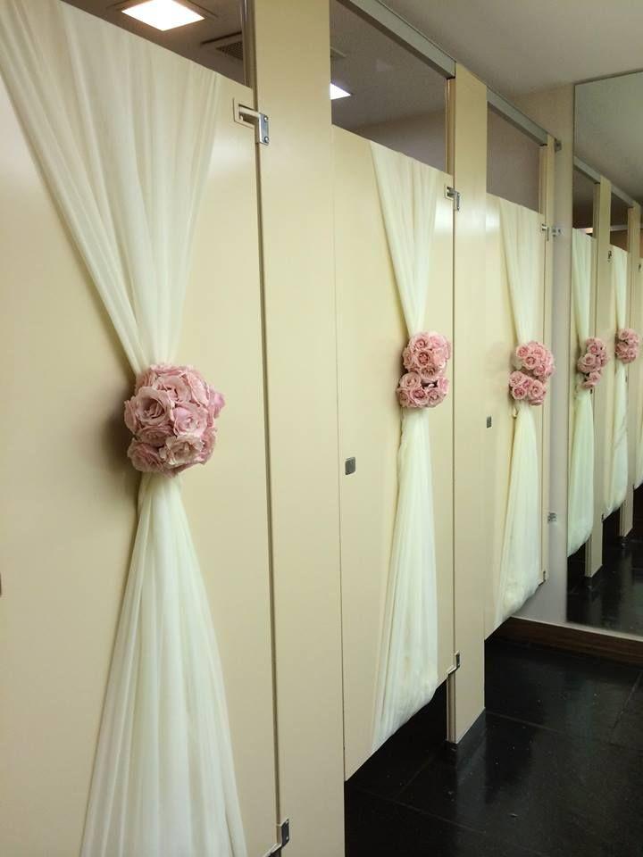 25 best ideas about bathroom stall on pinterest small for Wedding reception bathroom ideas