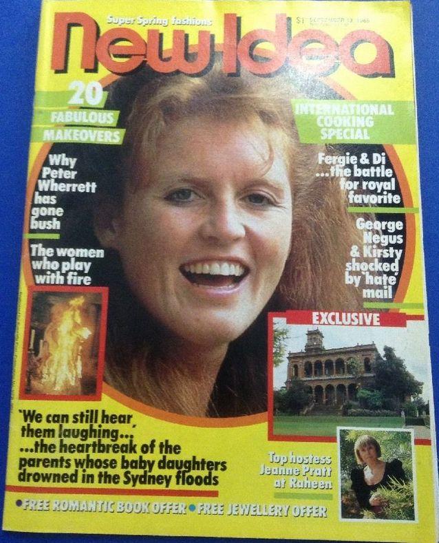 New Idea Magazine September 13 1986. Princess Fergie