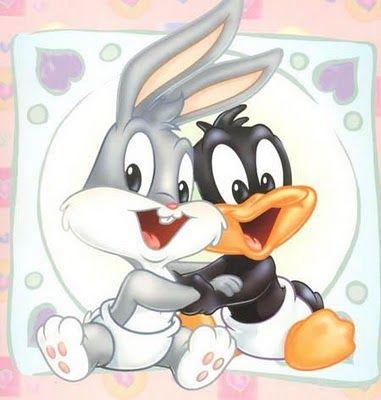 Baby Looney Tunes Bugs Bunny | DIBUJO DE BUGS BUNNY Y EL PATO LUCAS DE LOONEY TUNES BABY : INFANTIL Y ...
