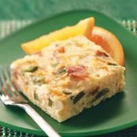 Top 10 recipes for 200 calorie breakfasts from taste of home, Makeover Sunday Brunch Casserole