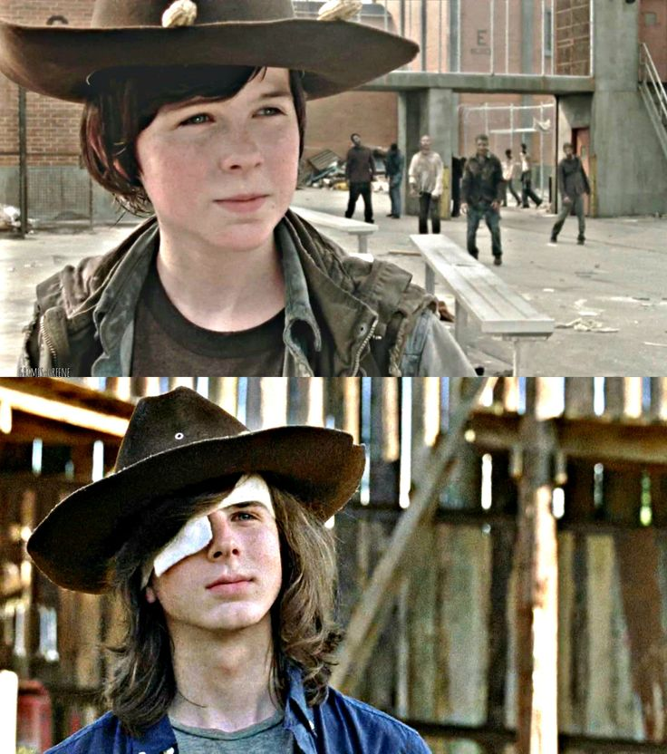 Carl Then and Now