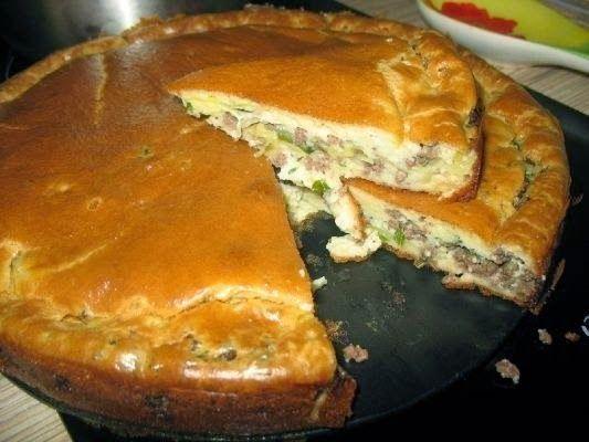 Рецепт самого вкусного и нежного пирога с капустой и мясом