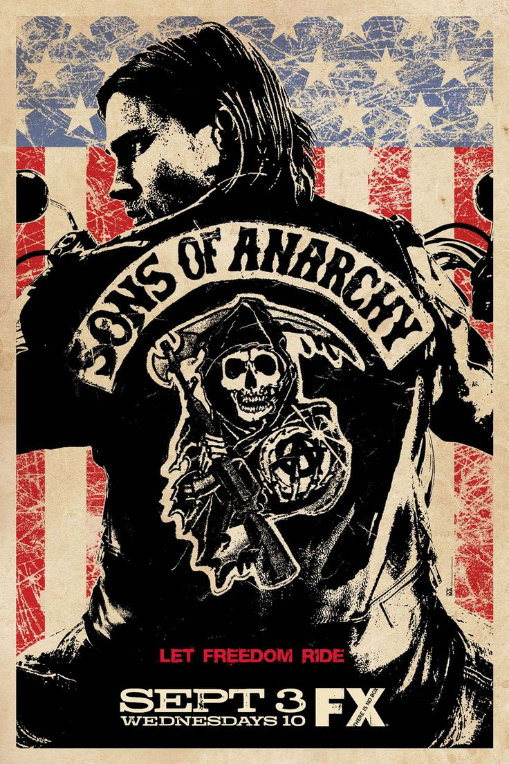 Sons of Anarchy is my number 1 rated series in my top 5.  If you haven't watched this show and enjoy television it is a must watch.  The storyline is great and gets better every season. It will keep you wanting more.