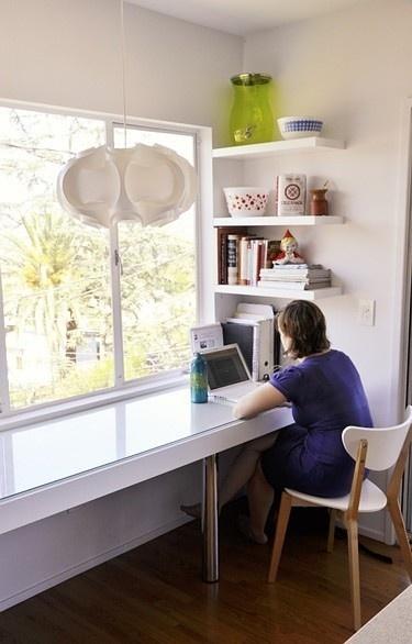 Desk In Front Of Window