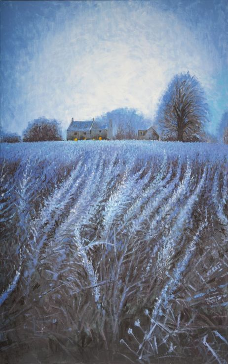 Buy Elkstone: Hoare Frost, Oil painting by Paul Hillary on Artfinder. Discover thousands of other original paintings, prints, sculptures and photography from independent artists.