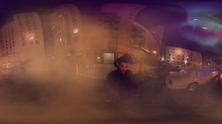 Watch The Weeknd's 360-degree virtual reality video for 'The Hills'