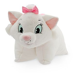 Disney Marie Plush Pillow | Disney StoreMarie Plush Pillow - Marie's soft and huggable plush pillow is the perfect excuse to curl-up for a little catnap. This cute Aristocat is a furry reversible pillow that poses as a plush toy by day when you secure her belly strap!