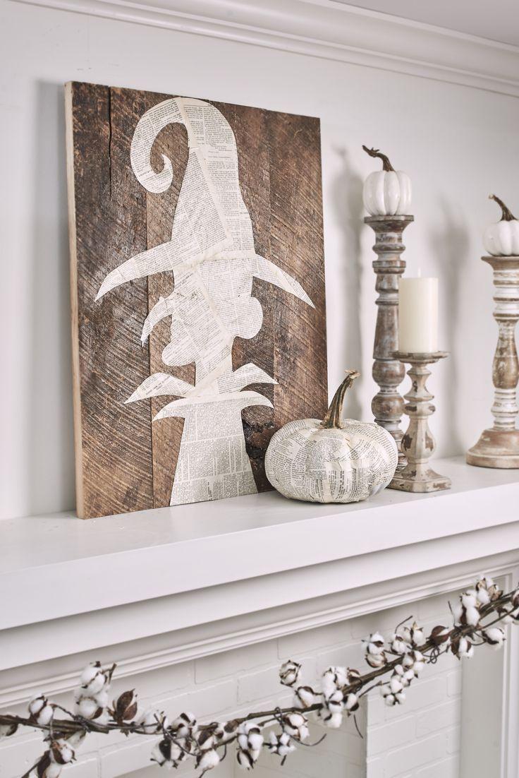 20 Wahnsinnig süße Halloween-Dekorationen mit Hexenmotiven, die Sie ganz einfach gestalten können