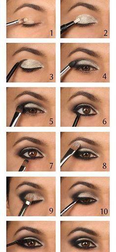 Easy smokey eye tips even for beginners!