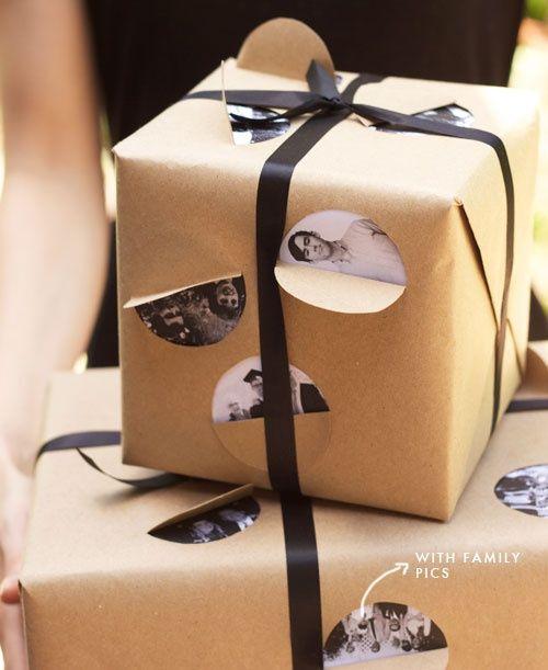 Экономичная упаковка подарков