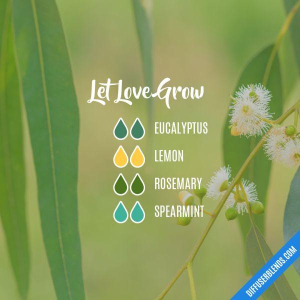 Let Love Grow - Essential Oil Diffuser Blend