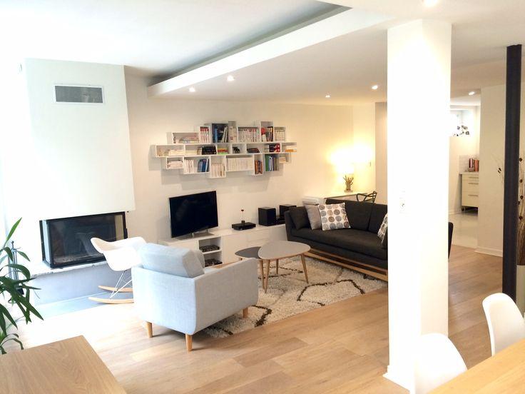 Bienvenu chez Violaine M à Nancy ! Ici un canapé 210 cm Anthracite chiné.  #redchezvous #mobilierdesign @rededition http://www.rededition.com/fr/canape-design/canape