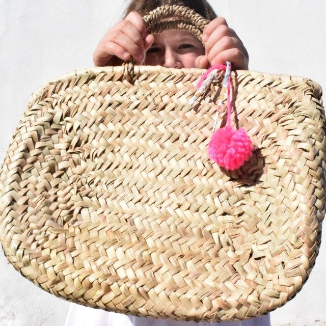 happy girls are the prettiest! straw bag from lovely.pt