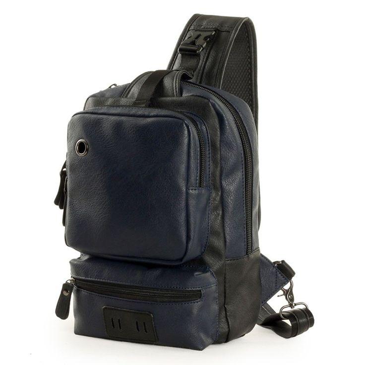 Para hombre Vintage de Cuero PU Bolso escolar bolsos de hombro Bolso mensajero Bolso de mano