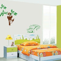 Monkey and the Crocodile $34