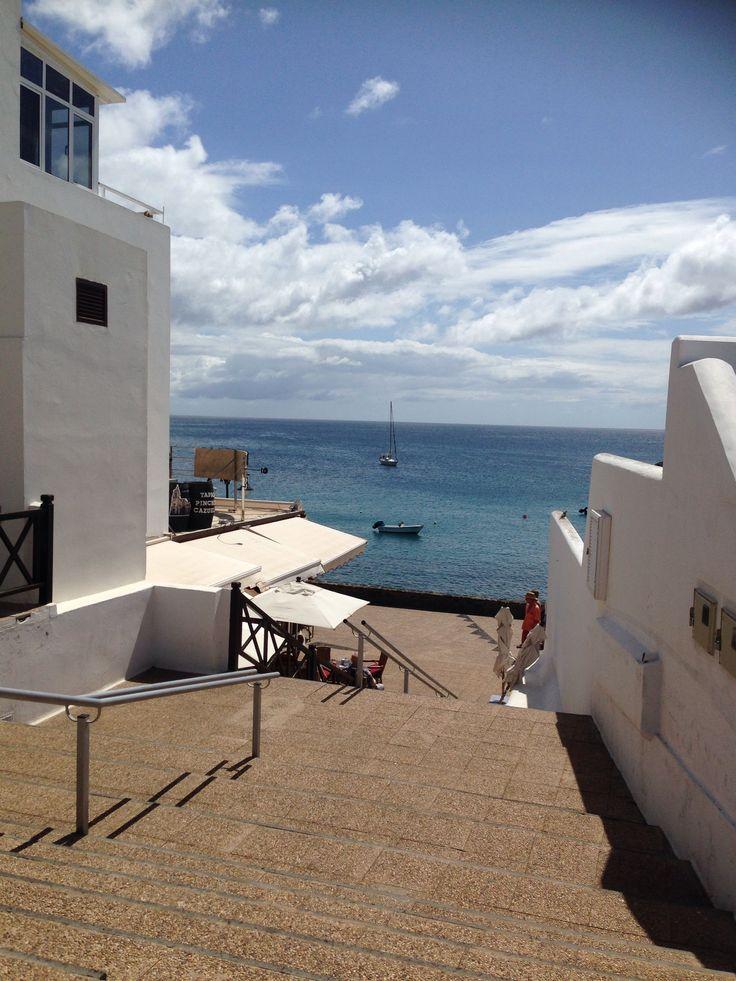 Playa blanca isla de lanzarote lanzarote pinterest for Villas rubicon lanzarote