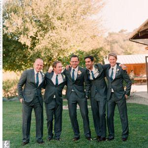 Groomsmen and Usher Attire :  wedding blazers groomsmen suits usher 300x300 02282010 Grey Groomsmen Suits