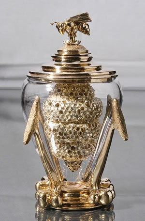 Queen Bee Honey Dipper by Elizabeth Staiger