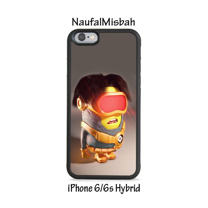 Cyclops Despicable Me Minion iPhone 6/6s HYBRID Case Cover